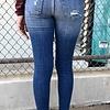 Sneak Peek Medium Mid Rise Skinny Jean