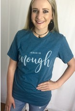"Faded Navy ""Jesus is Enough"" T-Shirt"