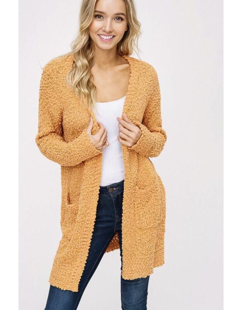 Apricot Chunky Cardigan