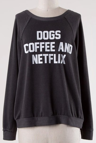 Black Dogs, Coffee and Netflix Top