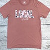 Mauve Floral Local Texas T-Shirt