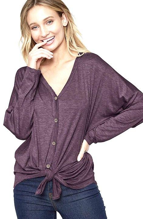 Kaylee Long Sleeve Top- More Colors
