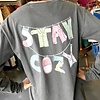 Charcoal Stay Cozy LS Shirt