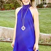 Lily Mock Neck Dress