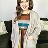 Mustard Striped Midi Dress