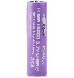 eFest Efest IMR 35Amp 18650 2500mAh 3.7v Battery - Button Top