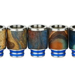 Arctic Dolphin Stabilized Wood Drip Tip