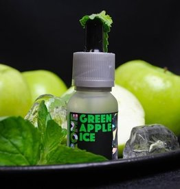 Green Apple Ice 30mL - Chrome eLiquid