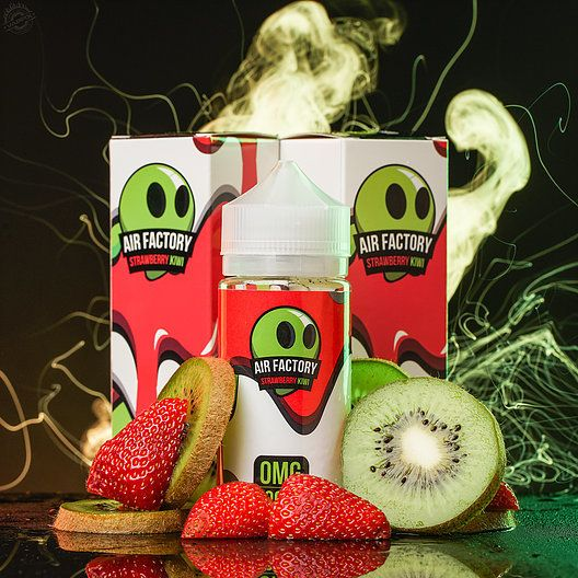 Air Factory Strawberry Kiwi 100mL - Air Factory eLiquid