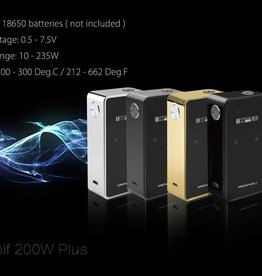 Laisimo Snow Wolf 200W Plus Box Mod
