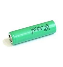 Samsung Samsung 25R 20Amp 18650 2500mAh 3.7v Battery - Flat Top