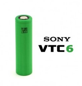 Sony Sony VTC6 30Amp 3000mAh 3.7v Battery - Flat Top