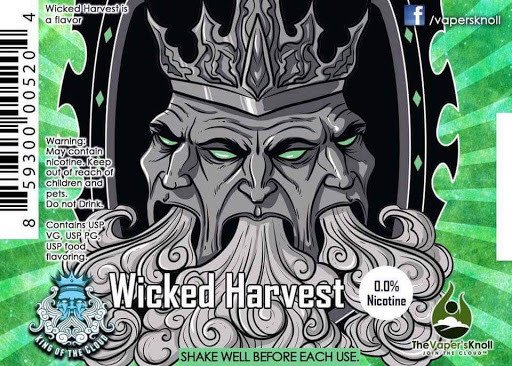 King of the Cloud Wicked Harvest - King of The Cloud eLiquid ...