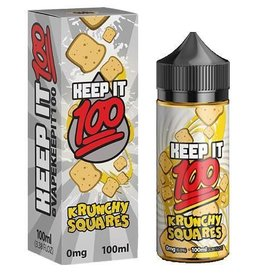 KeepIt100 Krunchy Squares 100mL - Keep It 100 eLiquid