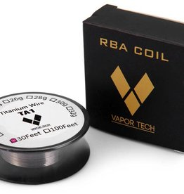 VaporTech Titanium Wire (30 ft Roll)