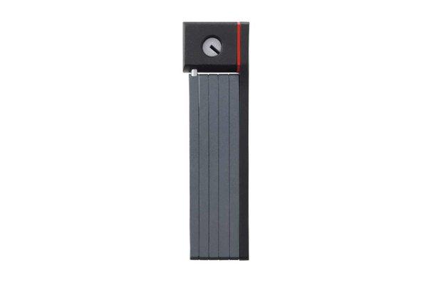 Abus Ugrip Bordo 5700/80, Folding lock with key, Black