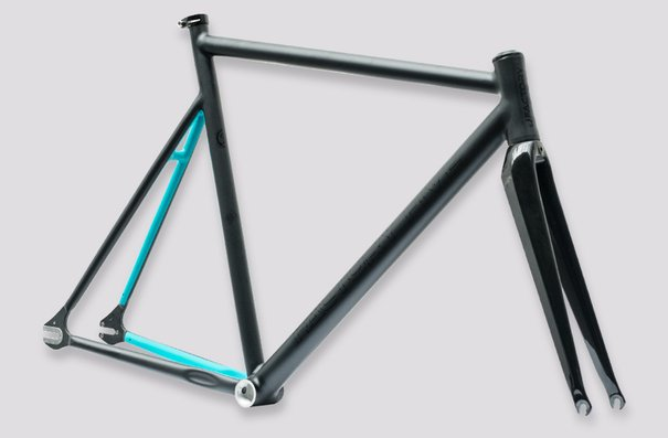 Factory Five F5 Stream, Matte Black/Turquoise, Small