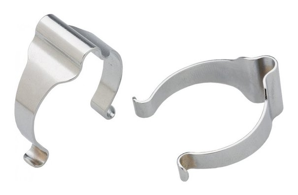Generic Frame Housing Clips - Silver - Pack of 3