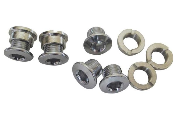 Wheels Manufacturing (WheelsMfg) Bolts & nuts for singlespeed chainrings, 6.5mm