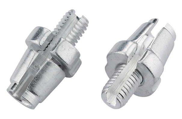 Jagwire Adjuster barrels (sleek style), M7, Silver