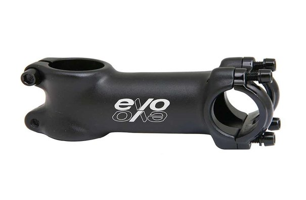 Evo E-Tec, Stem, 28.6mm, 25.4mm, Black, 110mm, ±7°