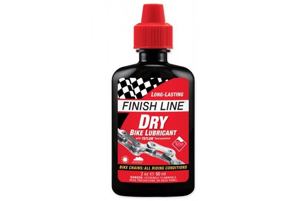 Finish Line Dry Lube, Chain Lubricant, 2oz (60ml)