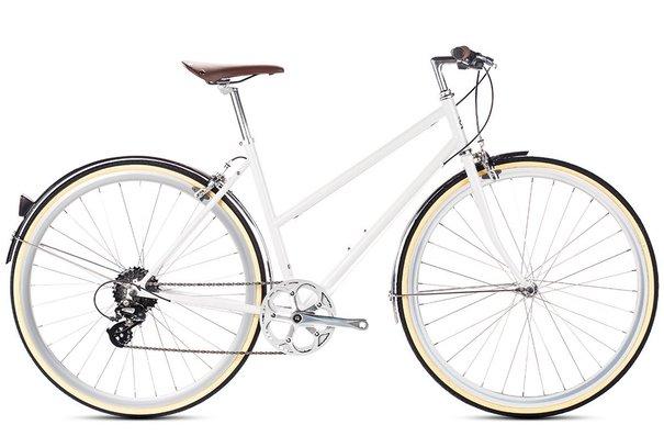 6KU Odessa 8-Speed Step-Through Hybrid Bike