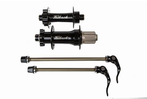 Fatback Bikes Fatback 170mm - 135mm QR hubs
