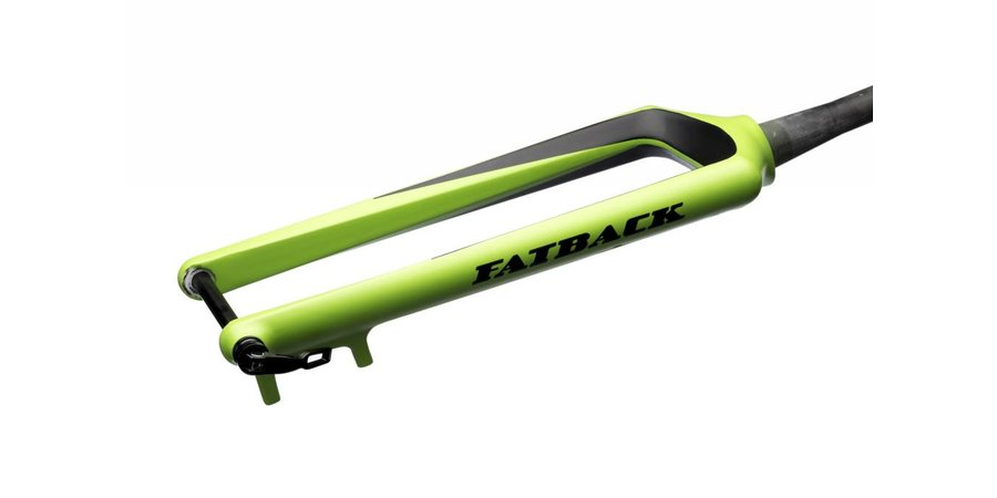 Fatback Bicycles Corvus carbon fat bike fork
