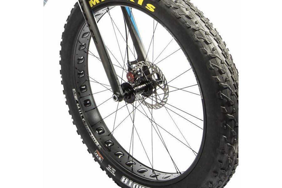 Fatback Bikes Mule Fut Front wheel with Fatback 135mm front hub