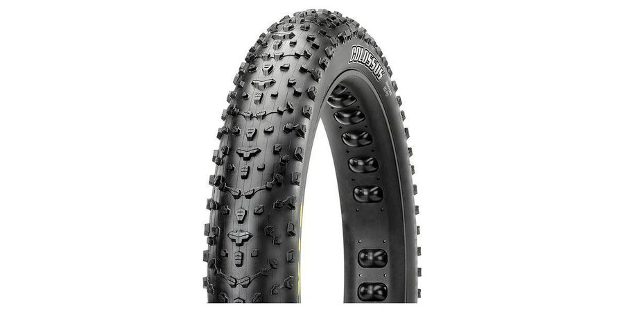 "Maxxis Maxxis Colossus 26 x 4.8"" Tire, Folding, 120tpi, Dual Compound, EXO, Tubeless Ready"