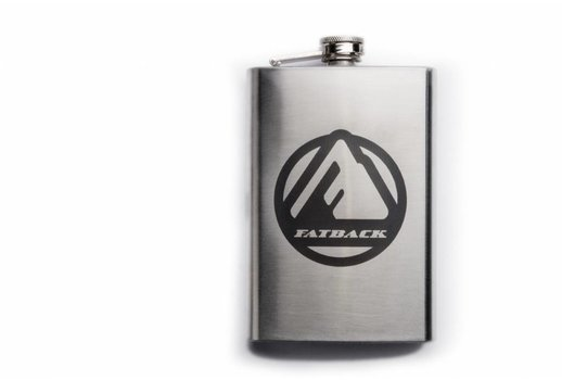 Fatback Bikes Fatback Stainless Steel flask - 8oz