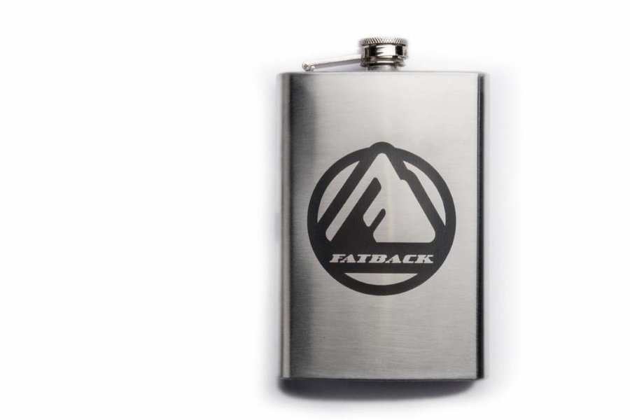 Fatback Bikes Fatback Stainless Steel flask - 8oz