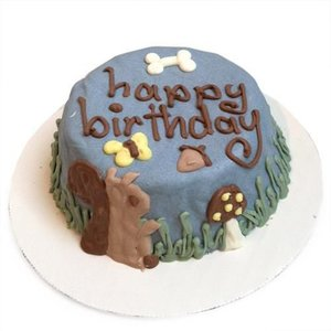 Bubba Rose Birthday Woodland Squirrel Cake designer