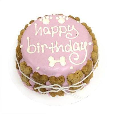 Bubba Rose Pink Birthday Cake