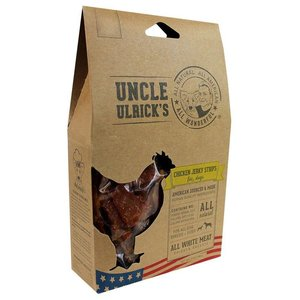 Alcott Uncle Ulrick's Chicken Jerky Strips - 3.5 OZ - Chicken