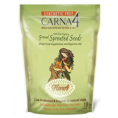 CARNA4 Flora4 Sprouted Seeds Topper  18 oz
