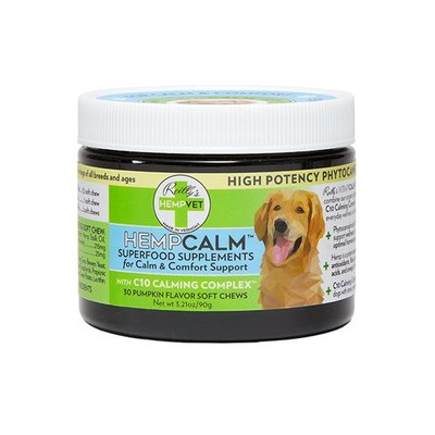 Reilly's Hempvet HEMPVET Hempcalm SUPPLEMENT 30ct