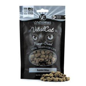 Vital Essentials VE Raw Rabbit Cat Treats .9OZ