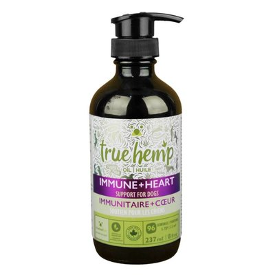 True Hemp True Hemp Immune and Heart Oil 8OZ