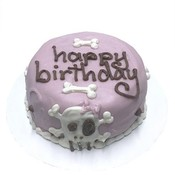 Bubba Rose BUBBA ROSE Birthday Cake Pink Punk Rock Skull