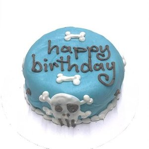 Bubba Rose BUBBA ROSE Birthday Cake Blue Punk Rock Skull