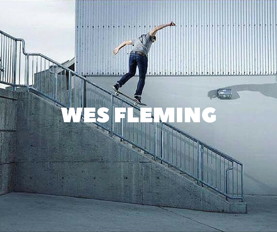 Wes Fleming Skateboarding