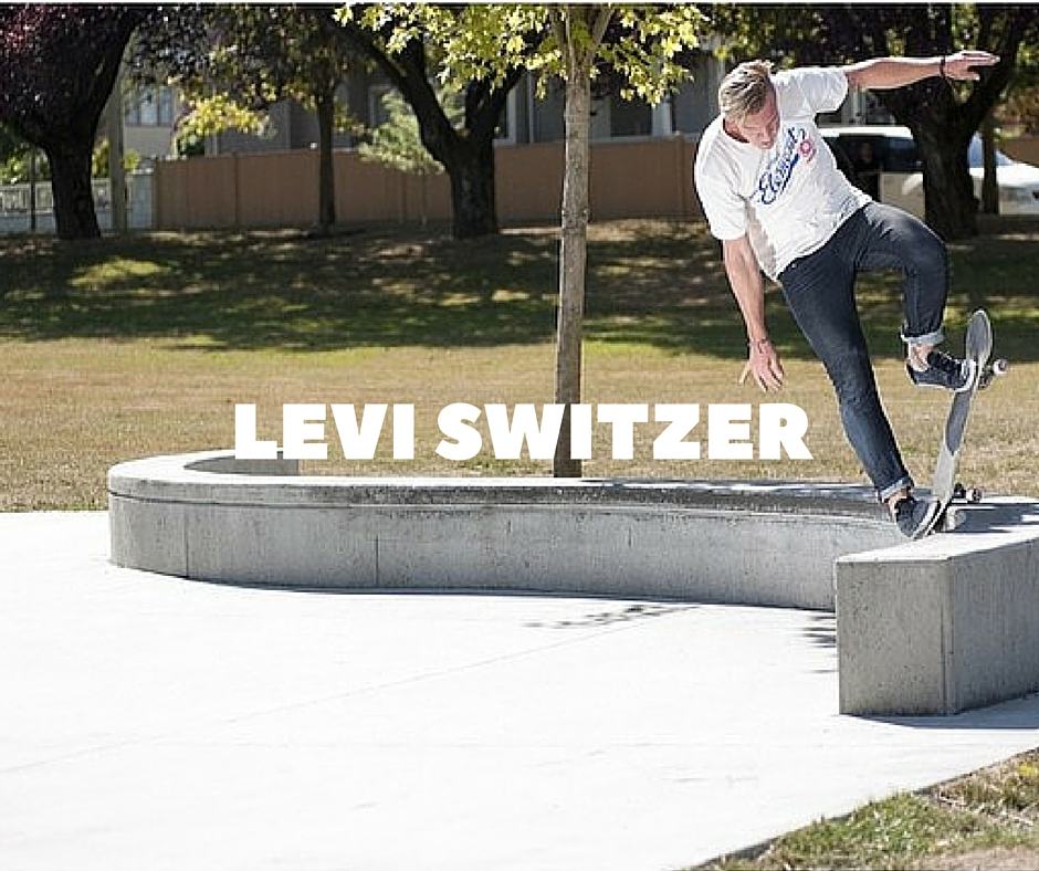 Levi Switzer Skateboarding