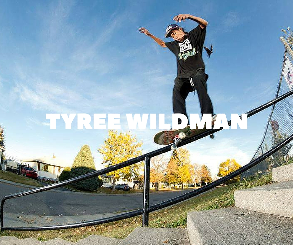 Tyree Wildman Skateboarding
