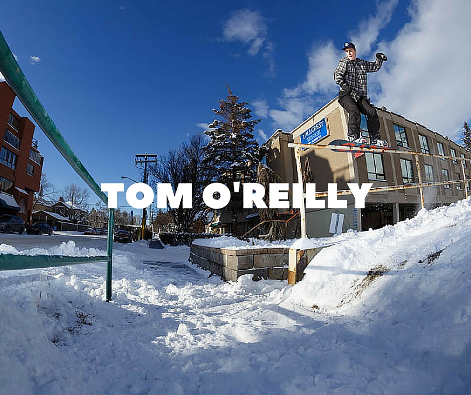 Tom O'reilly Snowboarding