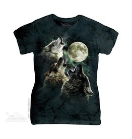 Mountain Three Wolf Moon T-shirt