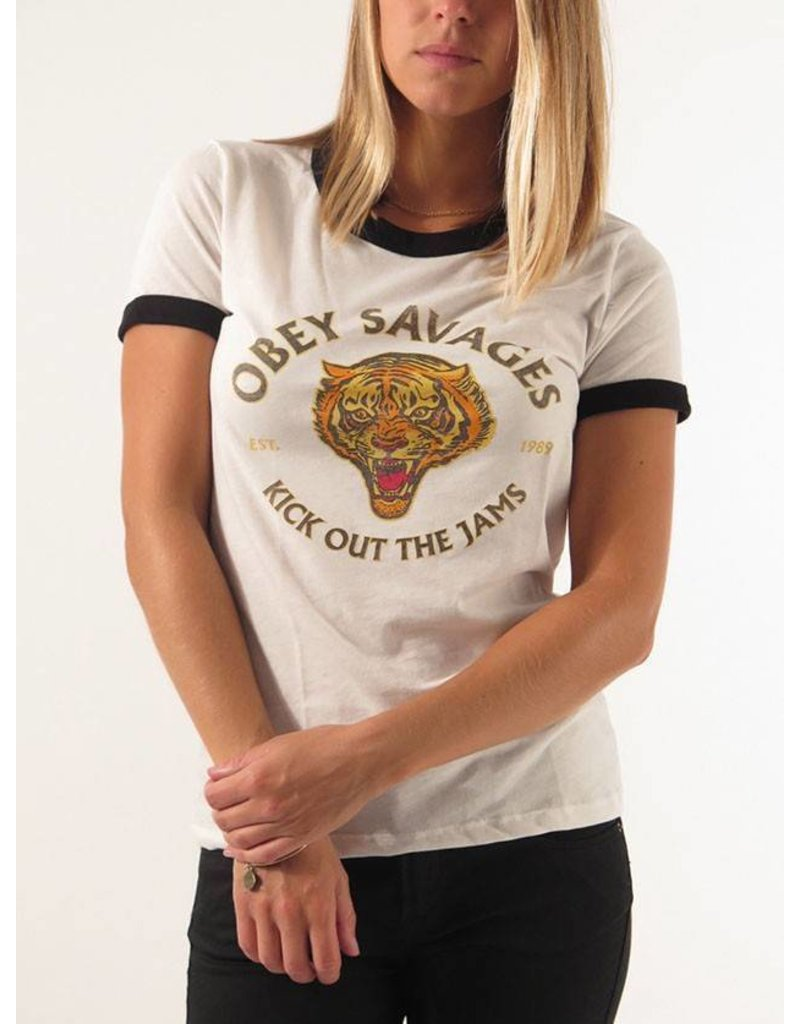 Obey Obey Tiger Savages T-shirt
