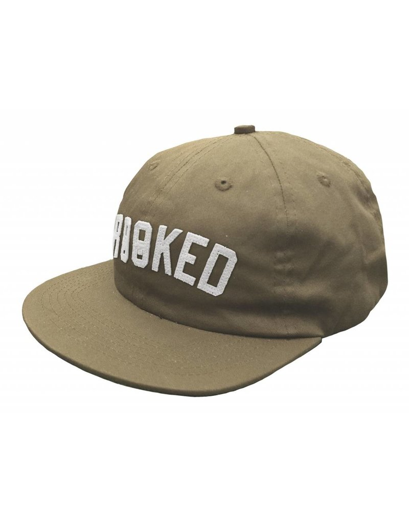 Krooked Krooked Arched Snapback Hat
