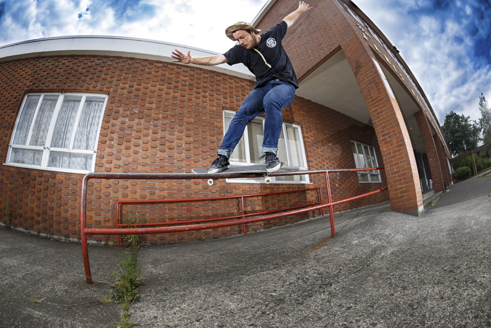 Callum Feeble Red Rail